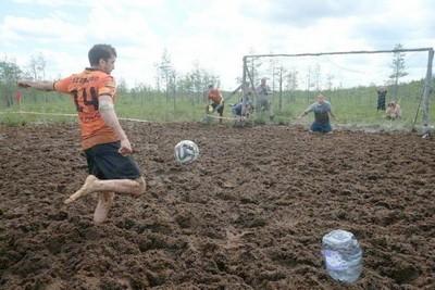 Болотный футбол. История и перспективы. Правила и особенности
