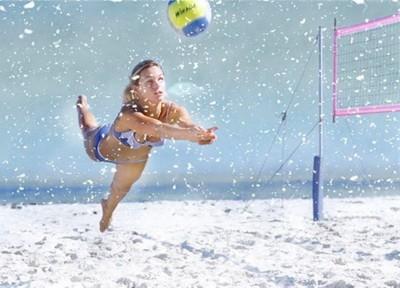 Voleibol na snegu 3