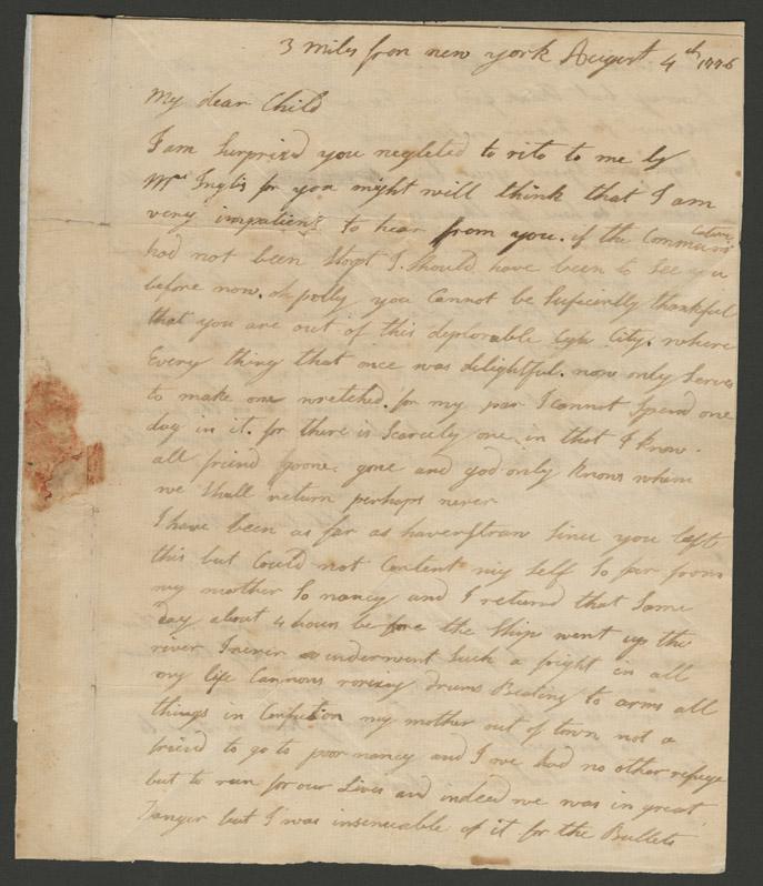 Hampton letter