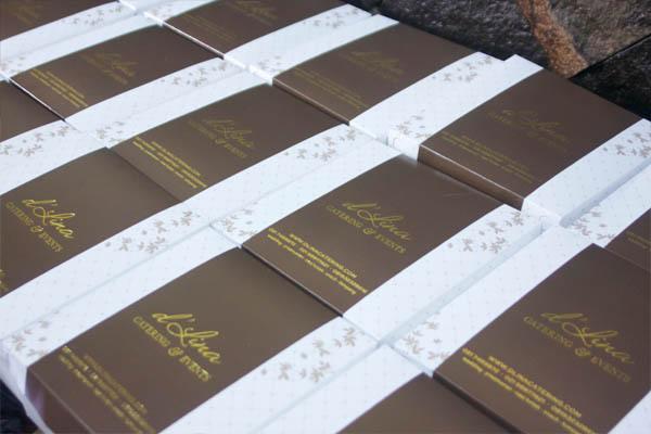 Desain baru kotak nasi box dLina Catering  dLina Catering