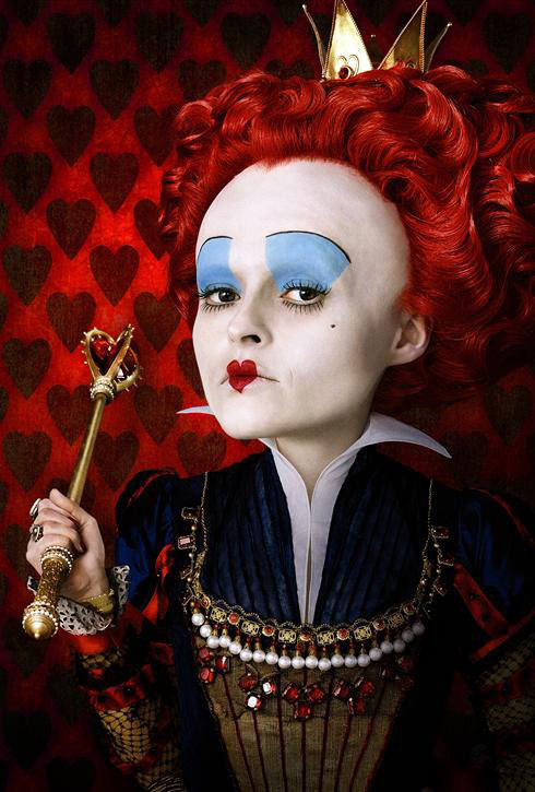 Helena Bonham Carter as Queen of Hearts