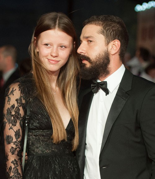 dlisted shia labeouf and