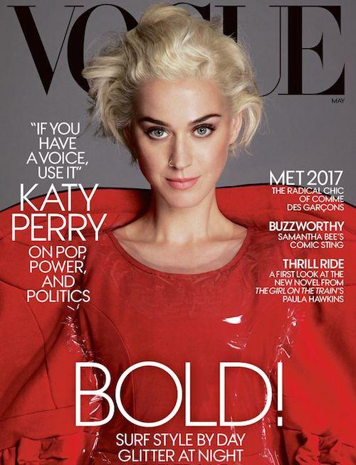 Katy Perry non può restare silenzioso più (a differenza qualche gente)