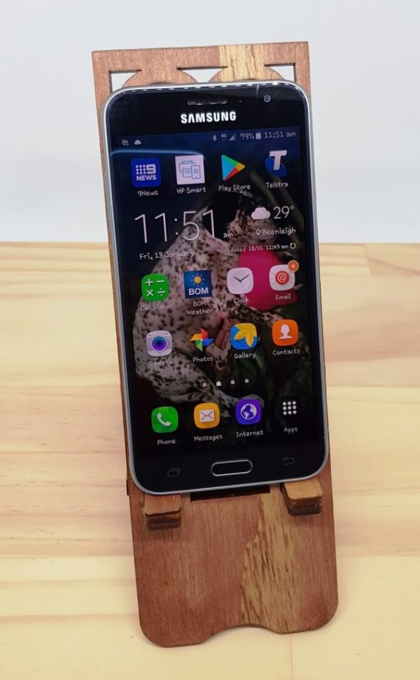 Wooden Phone Stand iPhone Samsung Smartphone