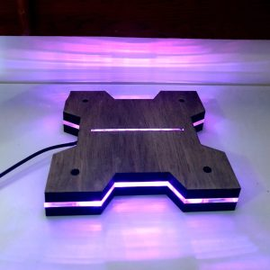 Xsquared LED Light Base Plans
