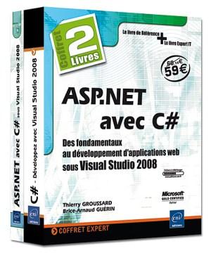 ASP.NET avec C# Coffret de 2 livres