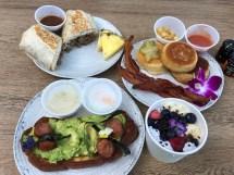 Breakfast Menu Tangaroa Terrace