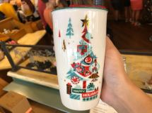 Holiday Park Icon Starbucks Ceramic Tumbler