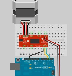 note the small stepper motor looks different than the one pictured it should have a 4 pin connector on the end this will be attached to the 4 pin male  [ 847 x 1283 Pixel ]