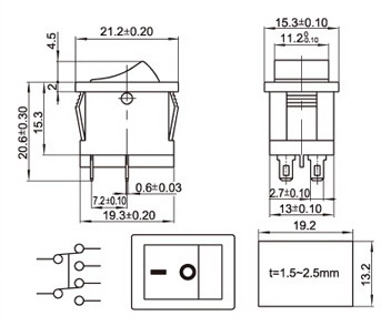 Single Pole Double Throw Switch Diagram Electrical Element