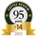 Coffee Review's No. 14 coffee of 2015
