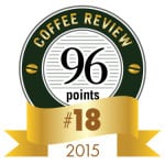 Coffee Review's No. 18 coffee of 2015