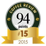 Coffee Review's No. 15 coffee of 2015