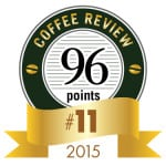 Coffee Review's No. 11 coffee of 2015