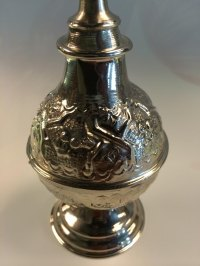 Moroccan Perfume Rose Water Dispenser Bottle in Alpaca ...