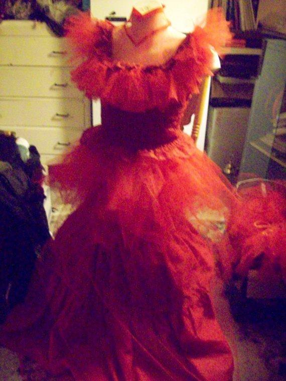 Beetlejuice Costume Red Wedding DressLydia DeetzCustom