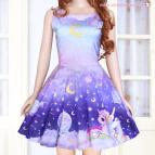 Cute Kawaii Unicorn Dress