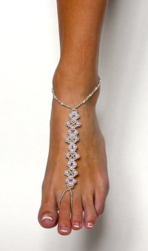 Elegant Barefoot Sandals Wedding
