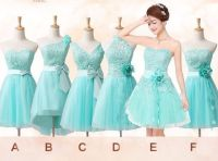 mismatched bridesmaid dress, tiffany blue bridesmaid dress ...