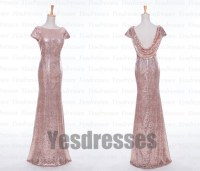 Gorgeous bridesmaid dress, short sleeve bridesmaid dress ...