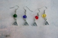 Deathly Hallows Earrings  Nerdy Robots  Online Store ...
