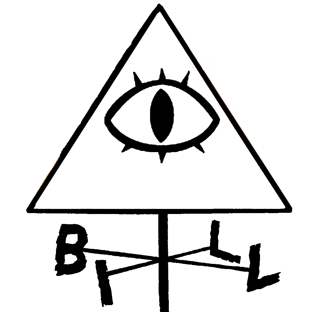Gravity Falls Bill Cipher Wind Vane Outline Car Decal