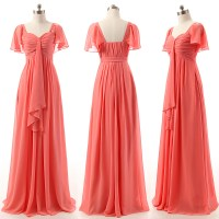 A-line Bridesmaid Dresses with Ruffles, Sweetheart ...