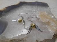 """Harry Potter """"golden snitch"""" earrings  Jen's Crafty ..."""