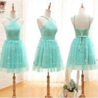 mint bridesmaid dresses, tulle bridesmaid dresses, short ...