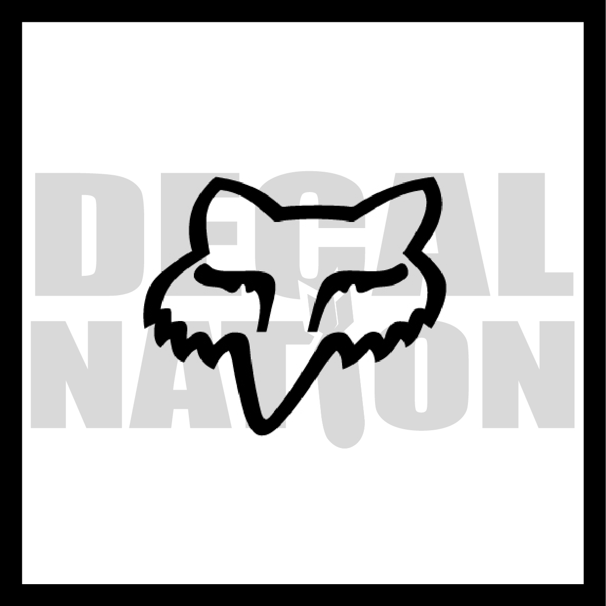 fox racing logo from