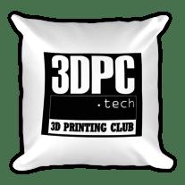3D Printing Club 3DPC,tech Square Pillow medium photo