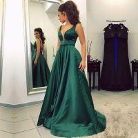 emerald green prom dress,emerald green evening gowns,sexy ...