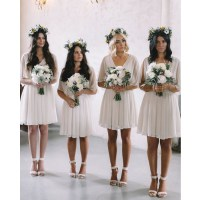 Charming bridesmaid dresses, short bridesmaid dress ...