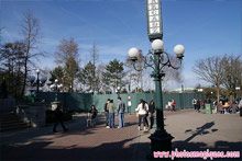 Central Plaza Stage works