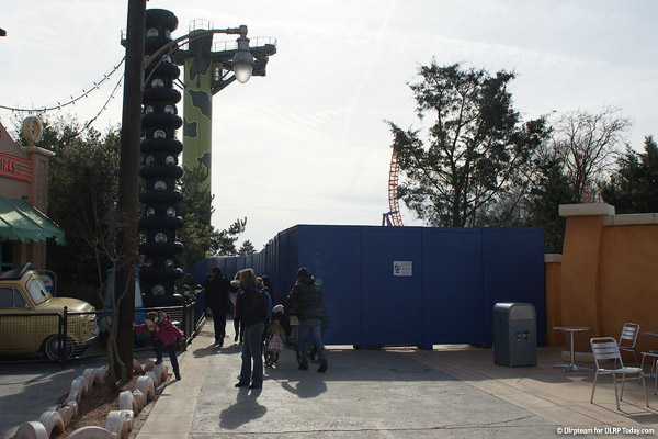 Toy Story Playland construction