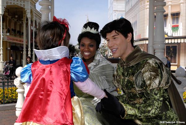 Princess Tiana at Disneyland Paris