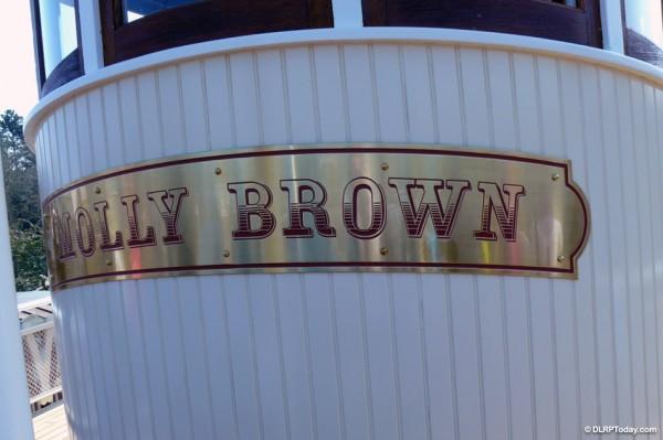 Molly Brown Inaugural Voyage