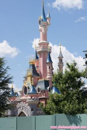 Sleeping Beauty Castle refurbishment