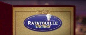 Ratatouille: The Ride Disneyland Paris English trailer logo