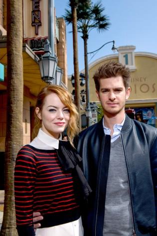 Andrew Garfield, Emma Stone, Spider-Man, Walt Disney Studios Park, Disneyland Paris