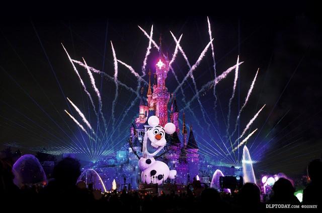 Frozen Summer Fun at Disneyland Paris - Disney Dreams!