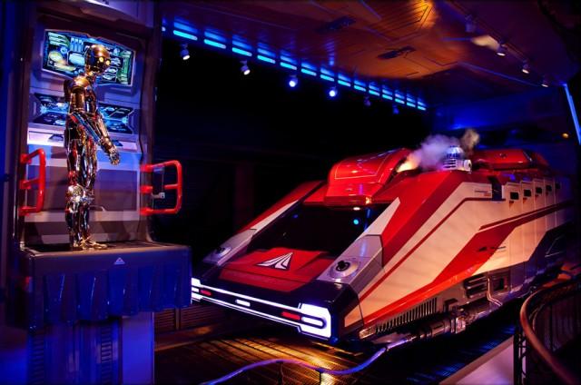 Disneyland Paris Star Tours the Adventures Continue update Star Wars