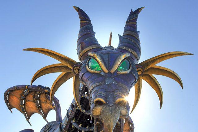 Disney Stars on Parade, Festival of Fantasy Maleficent dragon float