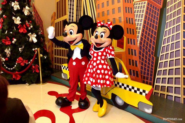 Disney Characters at Disneyland Paris Hotels