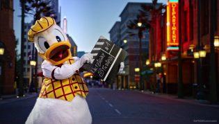 Disneyland Paris 25th Anniversary - Donald Duck Hollywood Boulevard