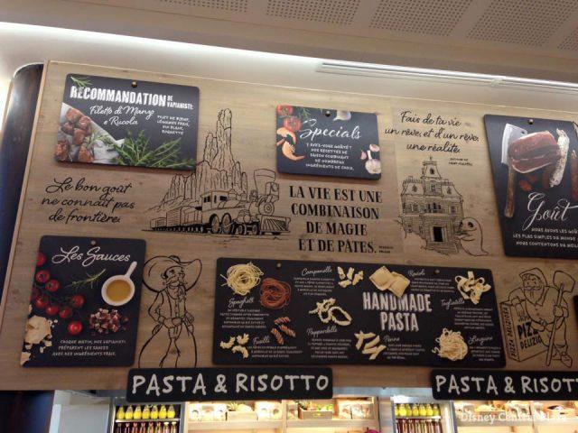 Vapiano Disney Village Italian restaurant