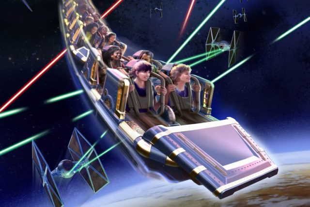 Star Wars Hyperspace Mountain: Rebel Mission poster