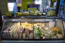 grass-fed yoghurt and cheese at La Azucena