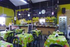 the cafe at El Galpón