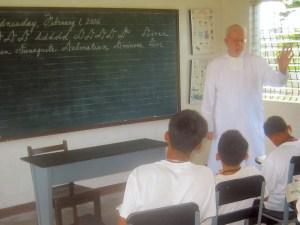 "<h3> Splash</h3>    <a href=""http://dlsaanc.org/splash/"">Bro. Felix Teaching at Bahay Pag-Asa</a>"